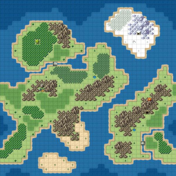 WorldMap Grid